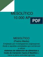 MESOLITICO