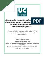 Perez Laura - Monografía - La Fractura de Cadera en El Paciente Mayor
