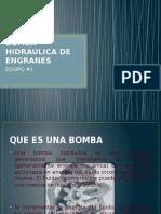 Bomba Hidraulica de Engranes