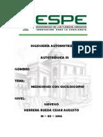 Informe Tableros Herrera Cesar