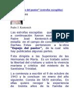 1943 Espejo Del Pastor p.jose Kentenich