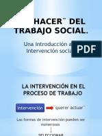 El Hacer Del Trabajo Social