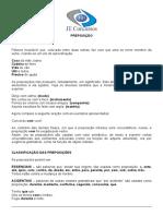 Preposição e Conjunção _ Conectivos