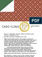 Caso Clínico Colangiocarcinoma