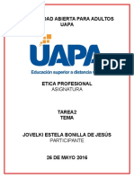 Etica Profesional Tarea 2