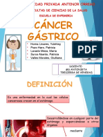 Cancer Gastrico Adulto