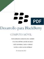 Desarrollo de aplicaciones blackberry