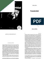 Esther Díaz, Posmodernidad, capítulo 1. ¿Qué es la posmodernidad?
