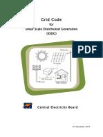 Pams Grid Code