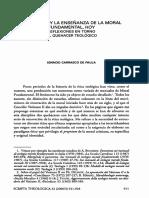 El estudio y la enseñanza de la moral hoy - Ignacio Carrazco