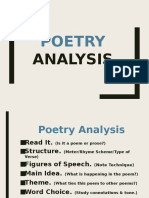 poetry analysis