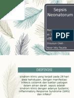 PATOFISIOLOGI sepsis neonatorum