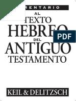 Comentario Al Texto Hebreo at-Keil-Delitzsch