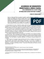 UCap PGU Mod5 Acuerdos de Desempeño Orientado a Resultados Kamensky