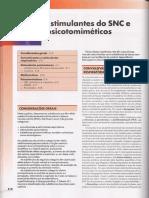 42 Estimulantes Do Snc e Psicotomiméticos