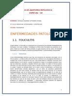 Anatomía Patológica Especial- PATOLOGIAS EN PIEL DE ANIMALES