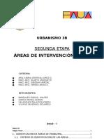 Trabajo Urbano 3B (Segunda Etapa) - Áreas de Intervención y FODA