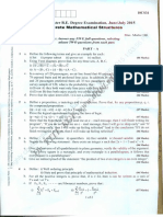 DMS 2015 question paper