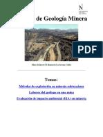 Apunte de Geología Minera