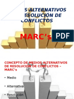 "Medios Alternativos de Resoluciã""n de Conflictospower"