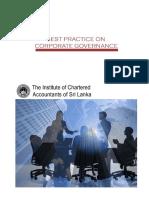 Code of Best Practice on Corporate Governance Sri Lanka