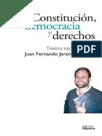 Libro Constitucion Democracia y Derechos