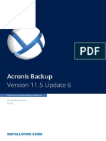 AcronisBackupWS-PC 11.5 Installguide en-EU