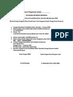 Form Pendaftaran PPDS