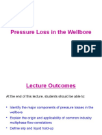 3. Pressure Loss in the Wellbore