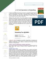 Best Tour & Trek Operators in Darjeeling