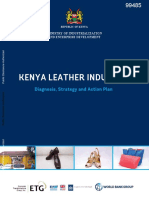 Kenya Leather Industry Diagnosis Strategy and Action Plan