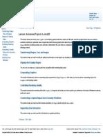 Advanced Topics in Java2D