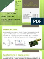 1bit Comparator 90n CMOS Layout Design