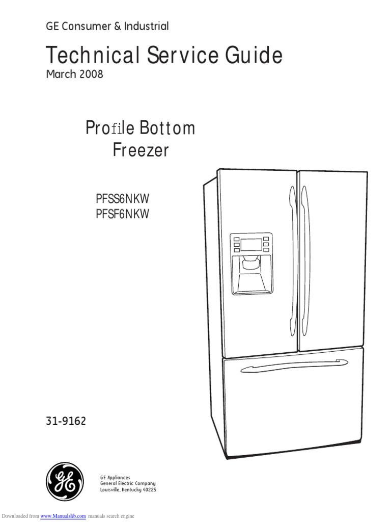 fridge wiring diagram ge profile pfss6pkw parts for ge ... on