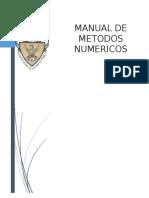 Manual Analisis Numerico