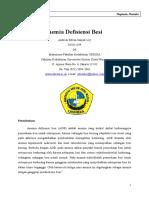 Anemia Defisiensi Besi - Makalah PBL Blok 24 - 2011 - Edvan