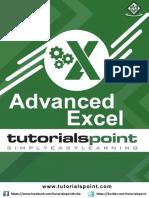 Advanced Excel Tutorial