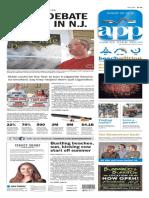 Asbury Park Press front page Sunday, May 29 2016