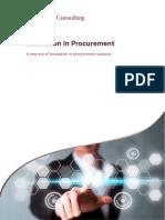 Innovation in Procurement