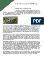 Đánh giá  dự án Park Riverside quận 9 HCM ở phân khúc villa