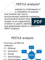 What is PESTLE Analysis