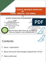 Landing Gear Shock Absorber Modeling
