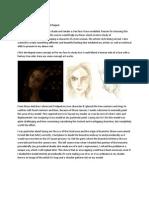 Maya shader development for a Tree Face