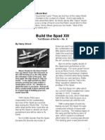 HS-Spad XIII - A Free-Flight Model Airplane