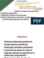 Tema 4 Planificarea