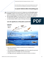 India's Reusable Launch Vehicle (RLV)_ Everything You Need to Know - Clear IAS