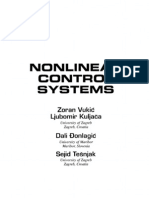 Nonlinear Control Systems.