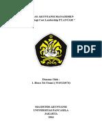 Strategi Cost Leadership PT ANTAM