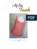Easy as Pie Tank Pattern