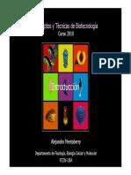 Mentaberry 1 Introduccion a La Biotecnologia